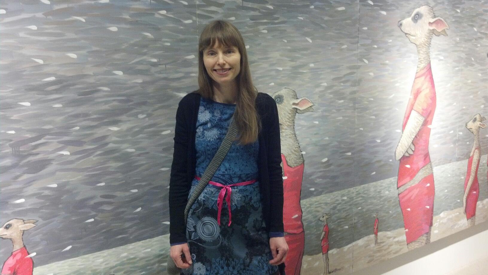 Karin Andersen e l'opera Vigilae Litoris