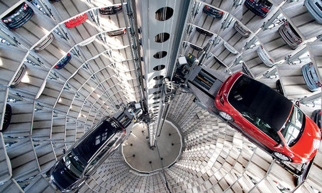 Produzione di automobili a Berlino (fonte Panorama)