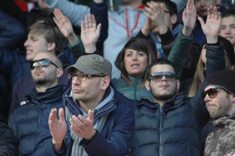 Samb-Maceratese 2-2, foto Giammusso, tifosi 2