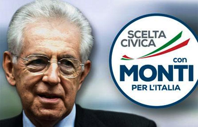 Scelta civica per Monti elezioni 2013