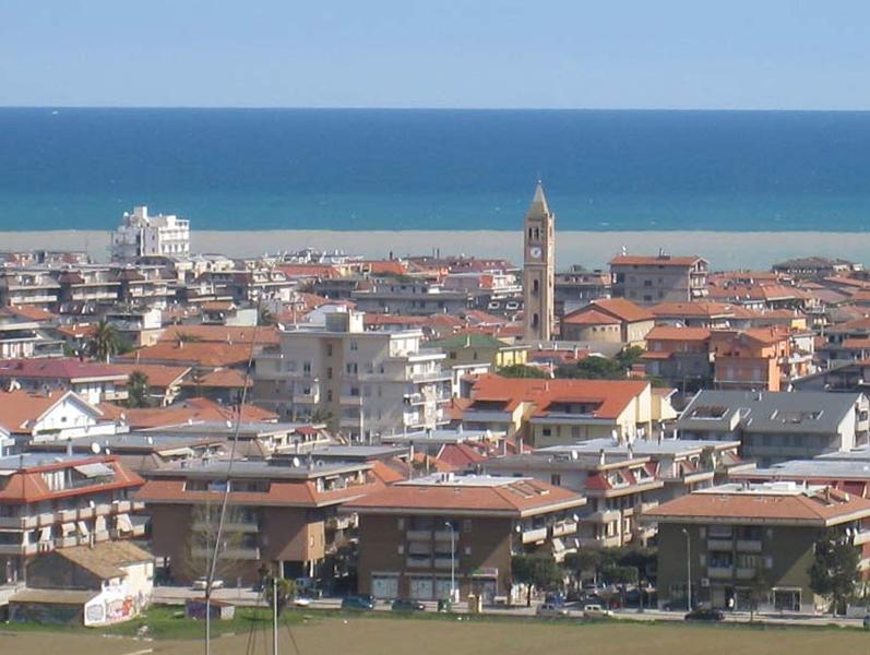 Una panoramica di Martinsicuro