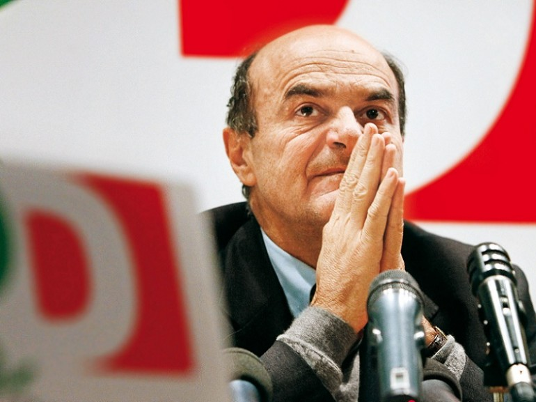 Il candidato premier Pier Luigi Bersani
