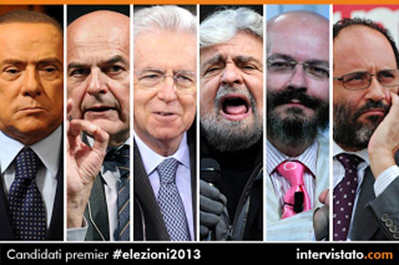 I leader dell'ultima campagna elettorale (it.paperblog.com)