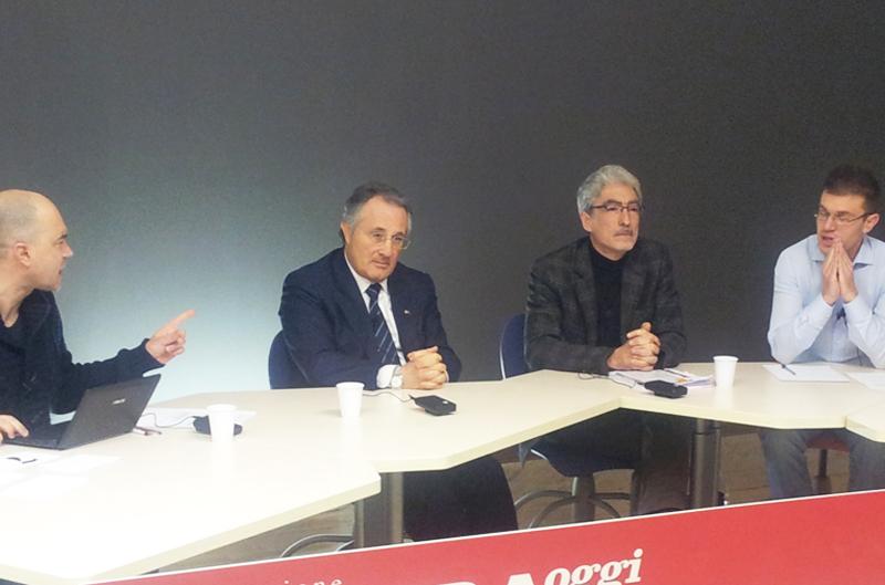 Amedeo Ciccanti e Massimo Rossi durante Youriviera