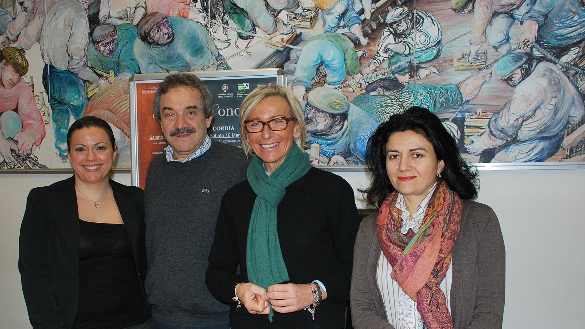 Margerita Sorge, Rita Virgili, Giampiero Paoletti