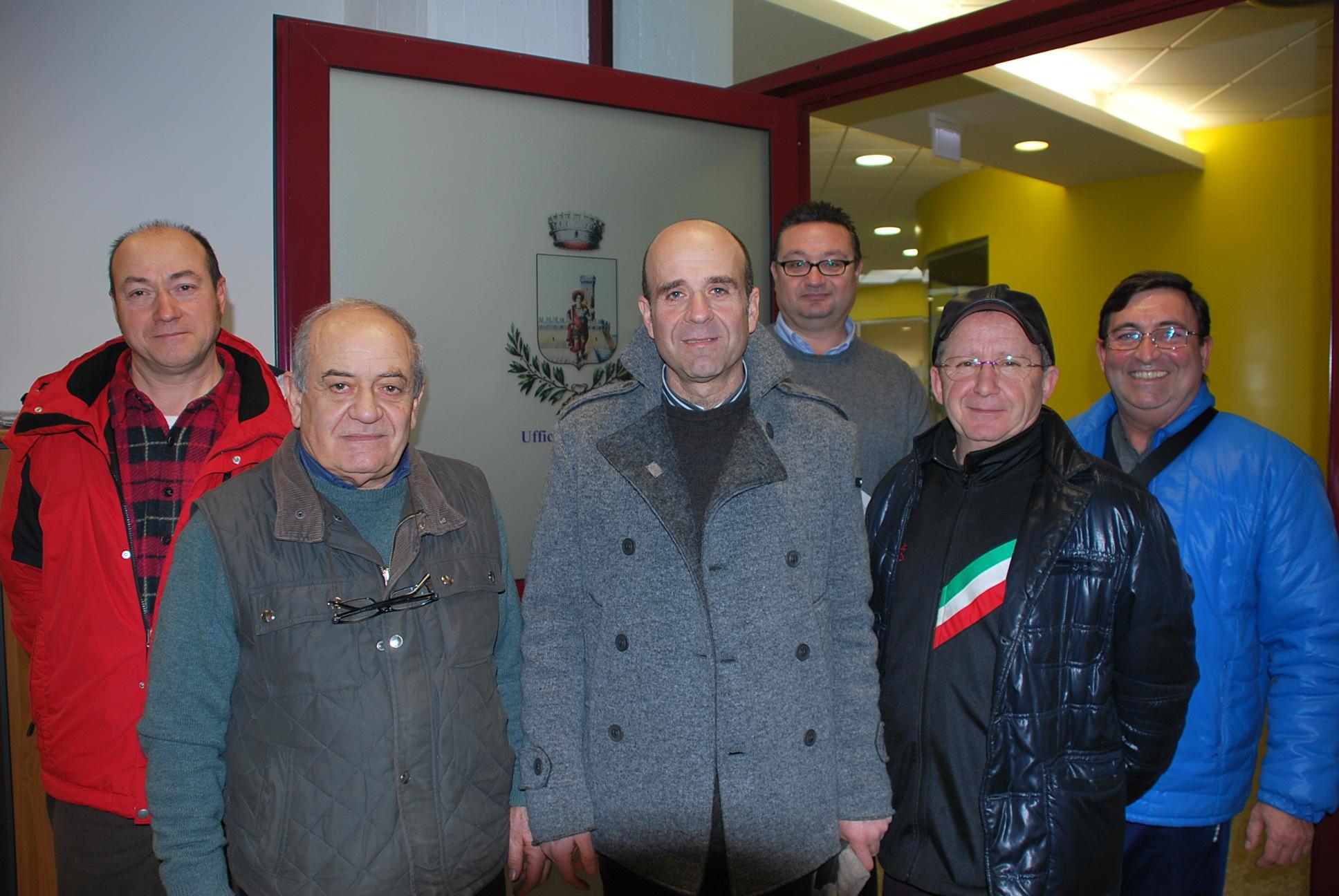 Eldo Fanini con gli Amici del Carnevale