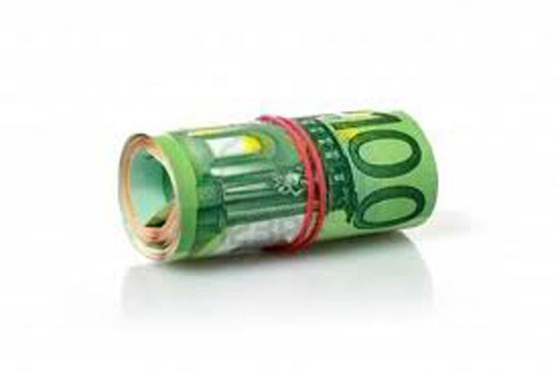 Una mazzetta di denaro