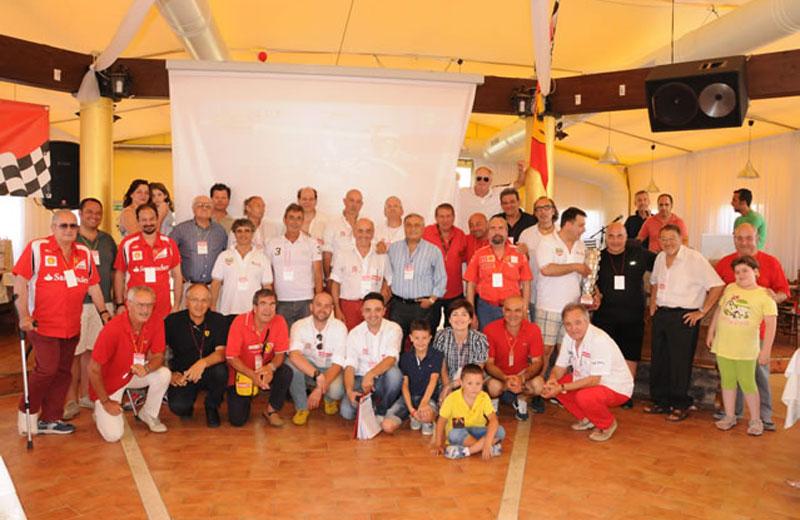 Il Ferrari Club di Villa Rosa