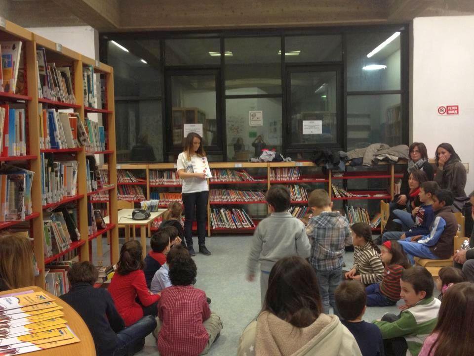Una lezione d'inglese alla Biblioteca Lesca