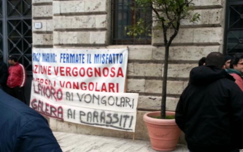 Cartellone di protesta