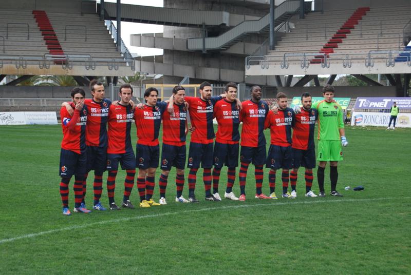 Samb-Celano (3-0), l'undici titolare. Foto Bianchini