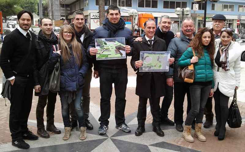 Filippo Olivieri presenta il progetto per la nuova Piazza Carducci