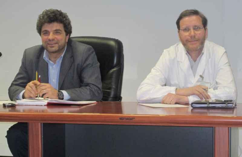 Giovanni Stroppa e Remo Appignanesi