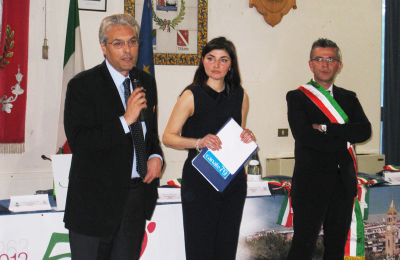 Gianni Chiodi, Stefania Serino e Paolo Camaioni