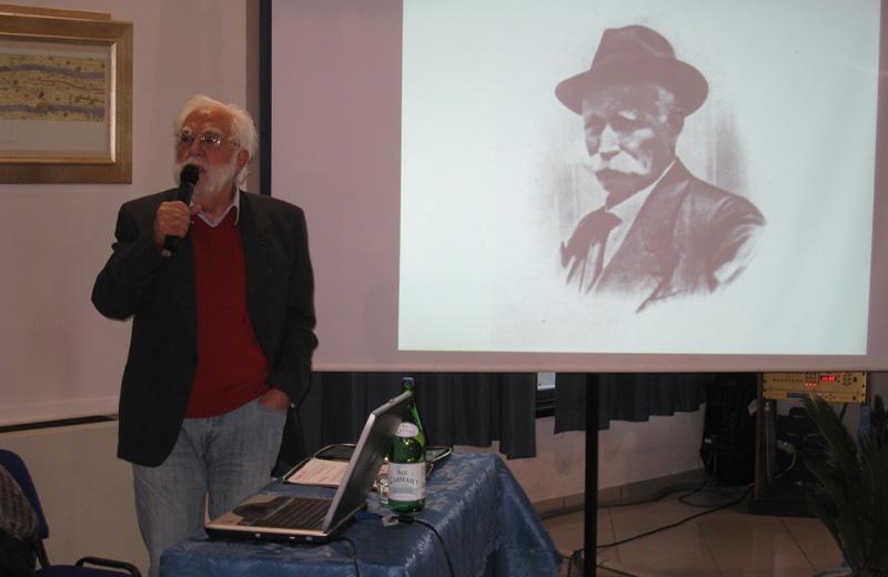 Lo storico Leopoldo Saraceni
