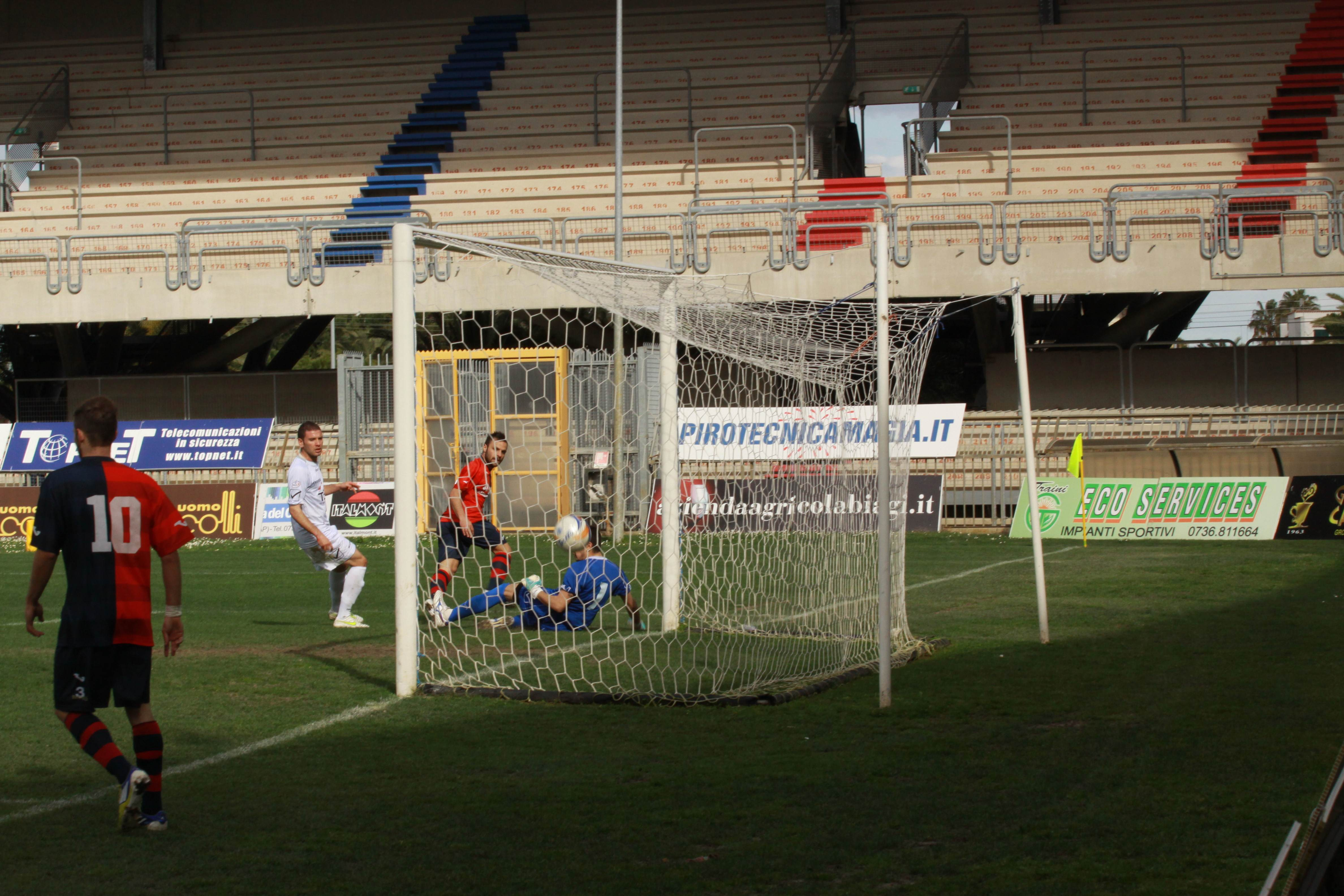 Il gol di Napolano (Bianchini)