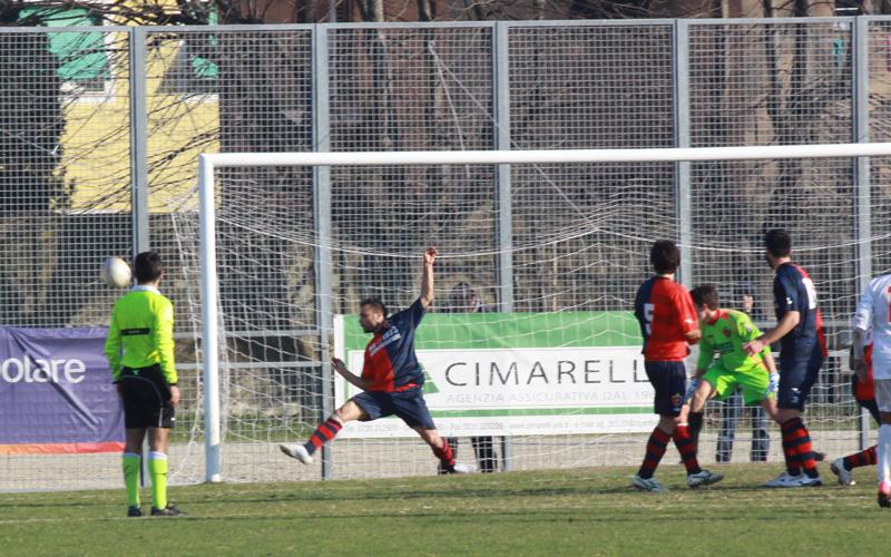 Jesina-Samb 1-2, foto Bianchini, Napolano salva sulla linea il possibile 2-2