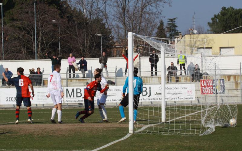Jesina-Samb 1-2, foto Bianchini, gol di Ianni