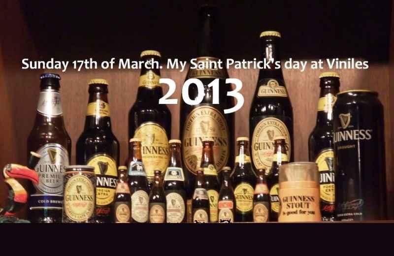 Saint Patrick's Day al Viniles