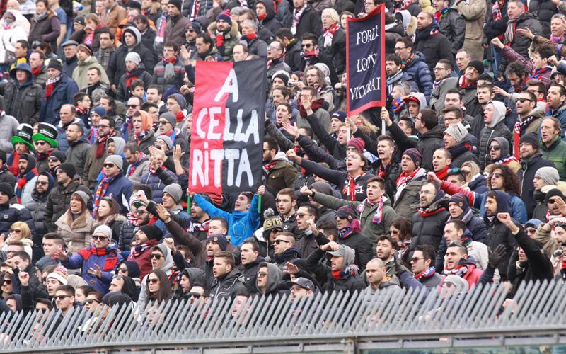Tifosi della Samb ad Ancona  (foto Bianchini)