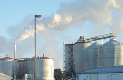 una centrale biomasse
