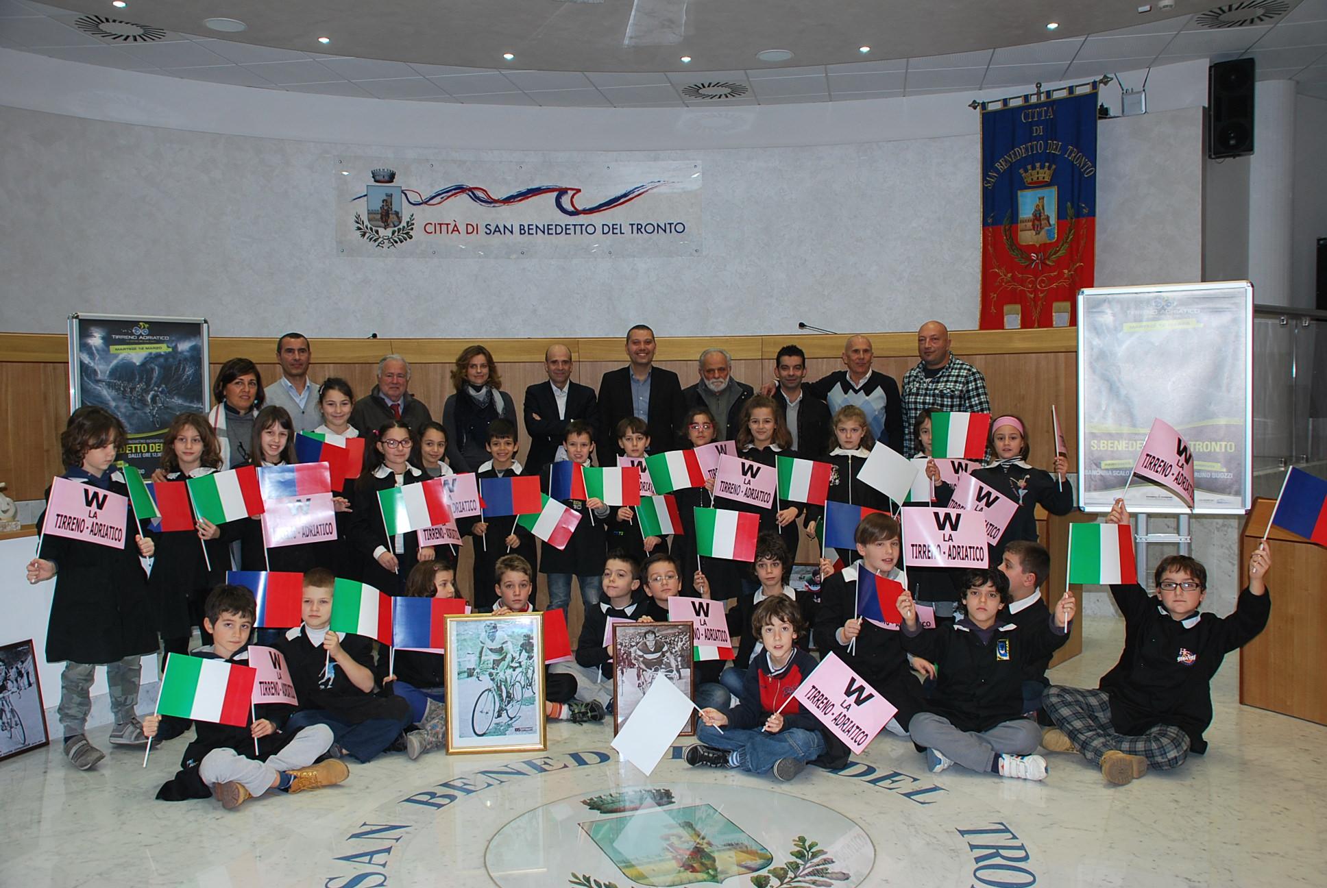 Tirreno-Adriatico, conferenza stampa