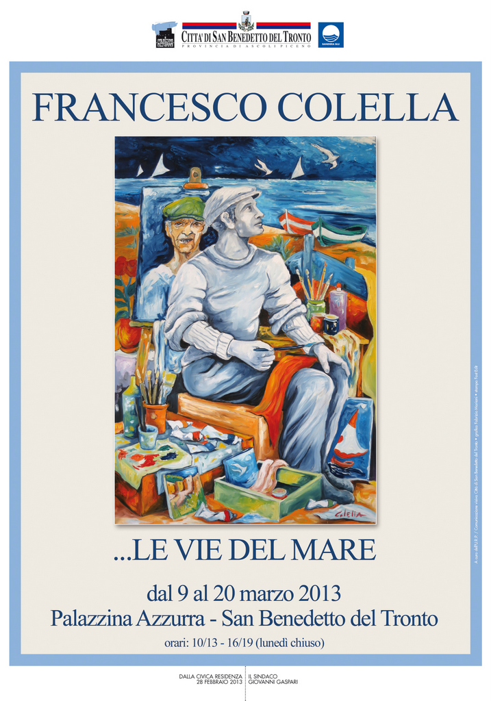 La mostra di Francesco Colella