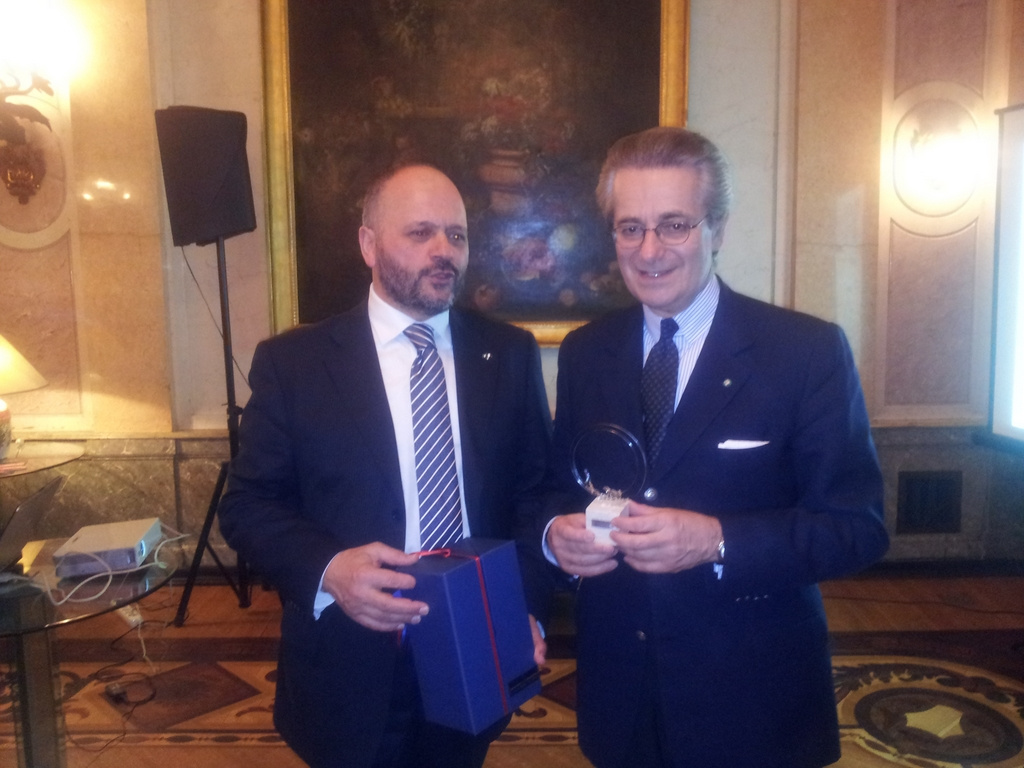 Gaspari con Zanardi Landi