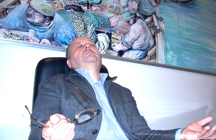 Giovanni Gaspari, secondo mandato turbolento