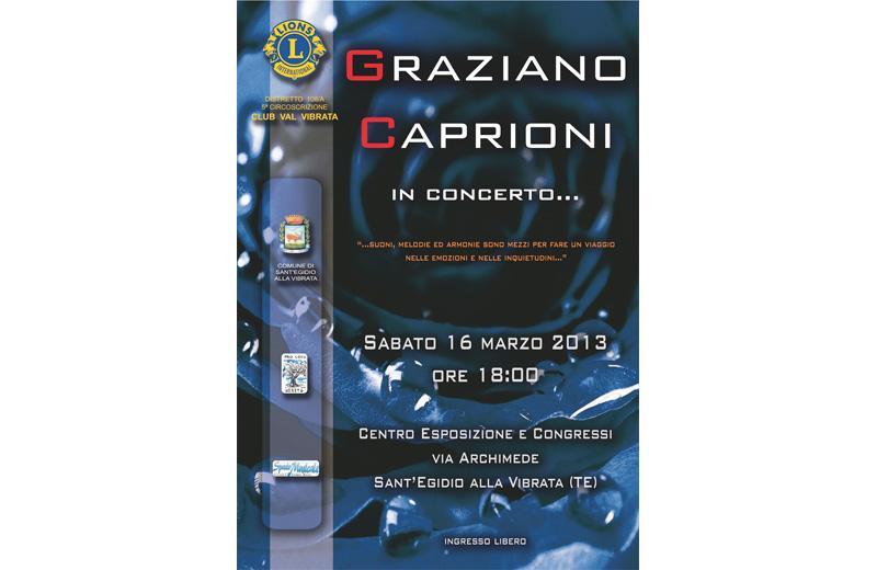 Graziano Caprioni in concerto