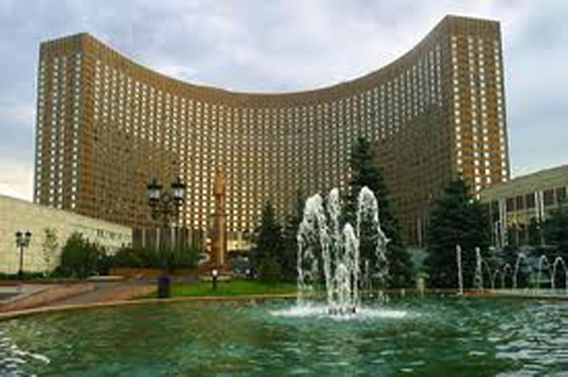 Il Moscow hotel della capitale russa