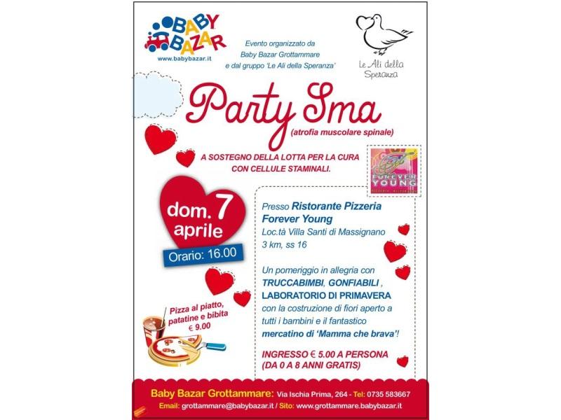 Il 7 aprile partecipa al Party SMA