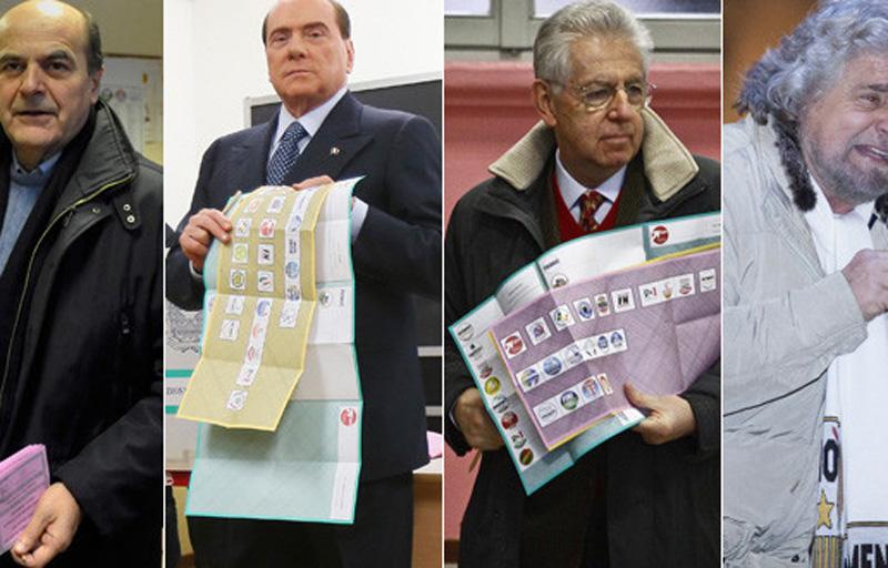 Gli attuali quattro leader in Parlamento
