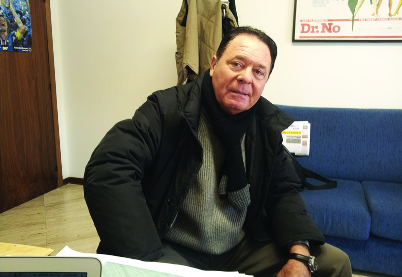 Camillo Zappasodi nella nostra redazione