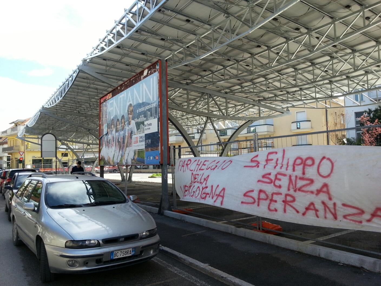 Pensiline in Via D'Annunzio