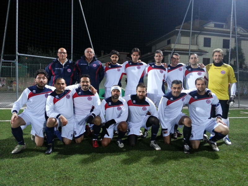 La formazione dello Sporting Grottammare calcio a 11