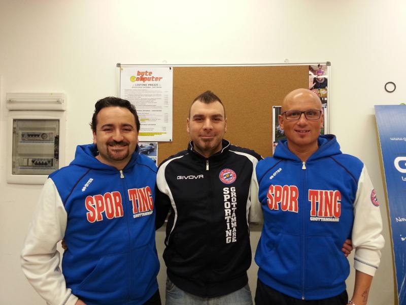 Da sinistra verso destra: Santori Pasqualino, Nicolino Giannetti, Fabi Gabriele