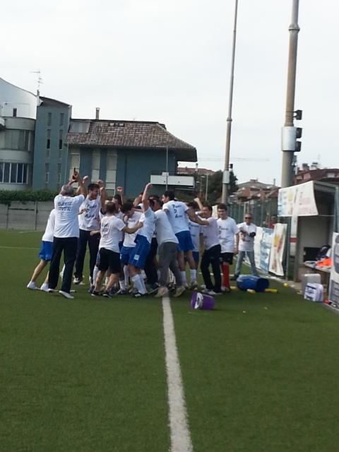 Il Porto d'Ascoli festeggia la Promozione al termine dei 90 minuti