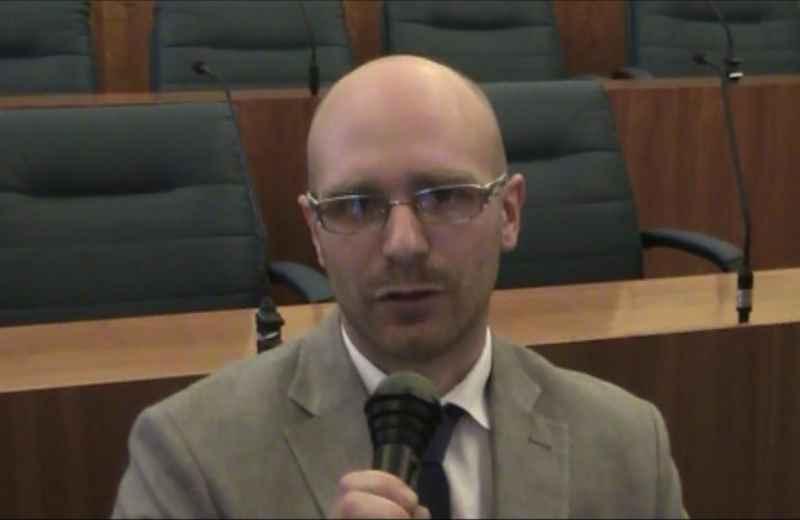 Andrea Crimella, candidato sindaco per il Movimento 5 Stelle