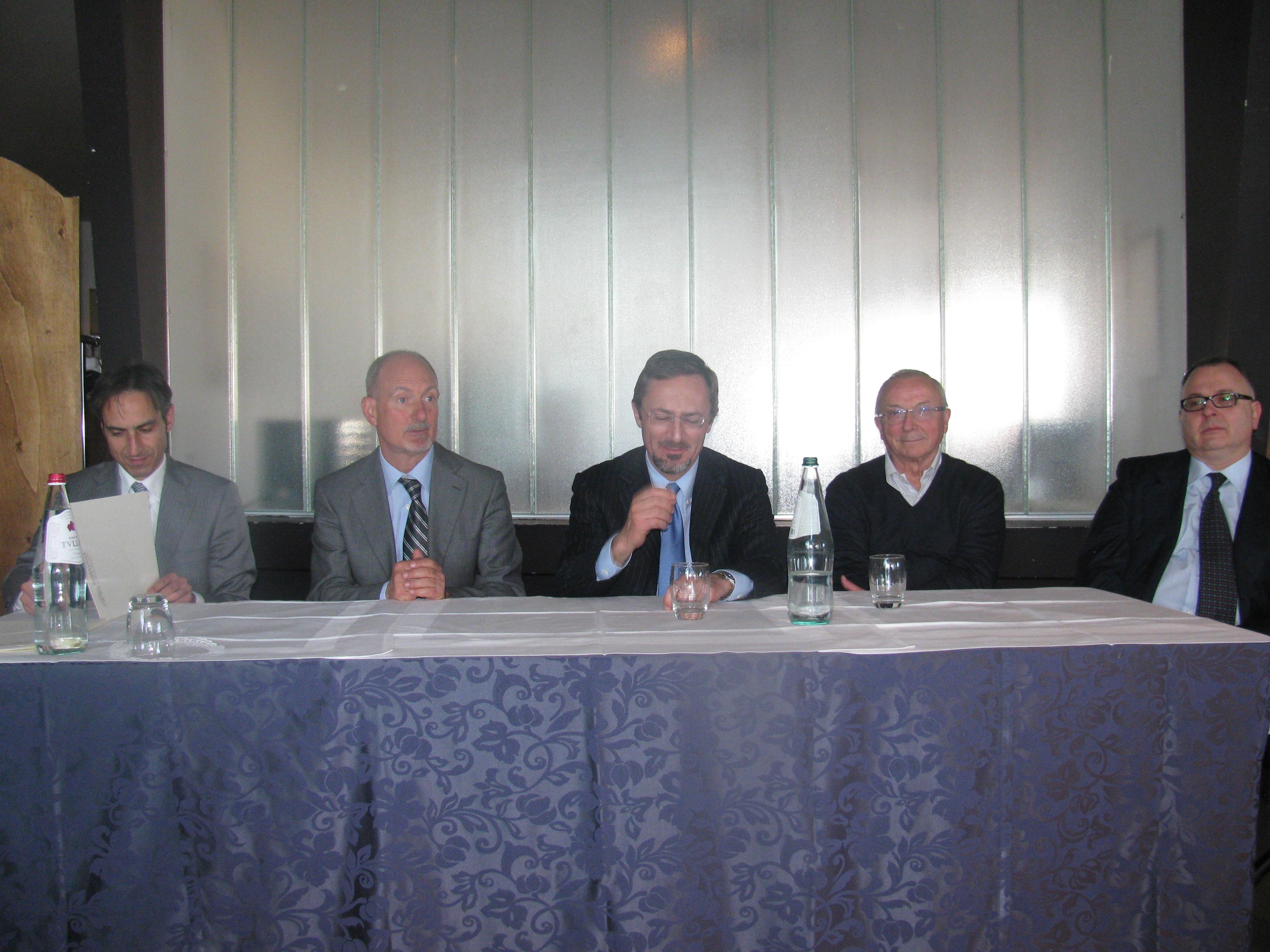 Conferenza stampa all'Ipssar