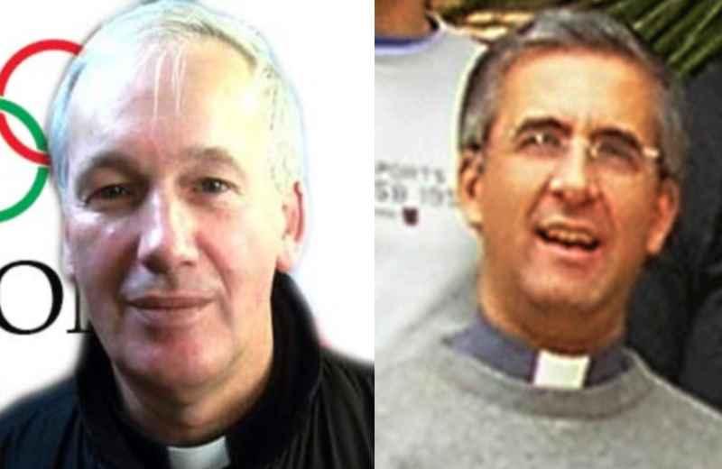 Don Mario Lusek e don Antonio Napolioni