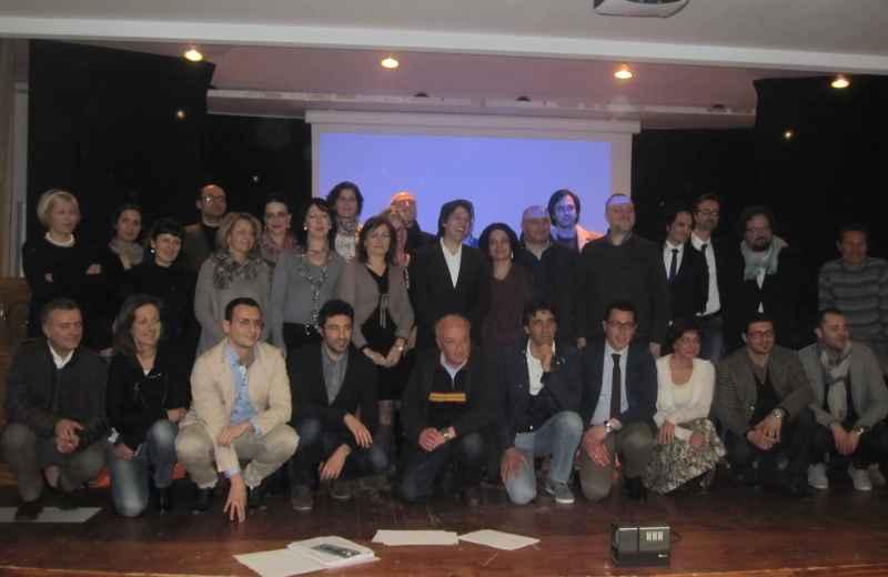 Enrico Piergallini e la sua squadra