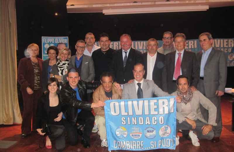 Filippo Olivieri con la Lista Grottammare Attiva