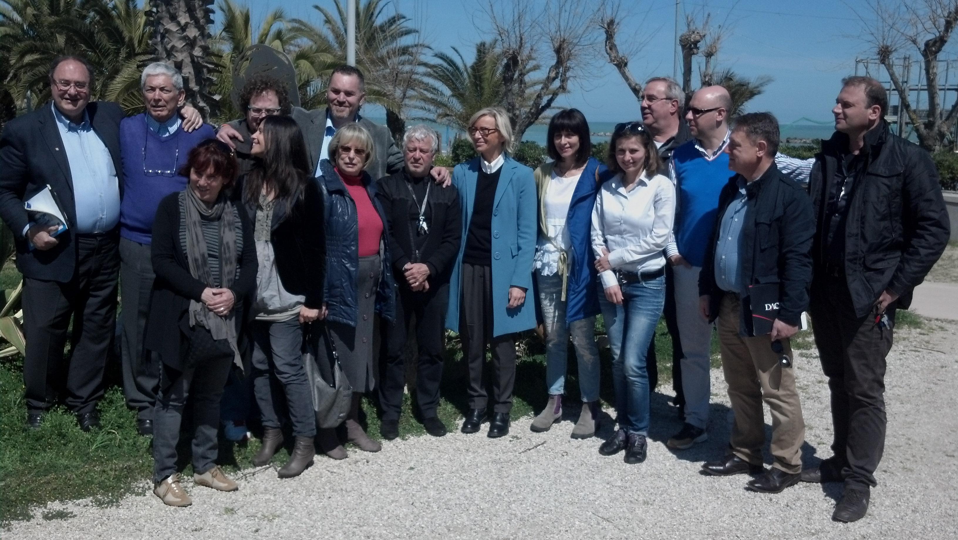 Foto di gruppo per Assoalbergatori e collaboratori