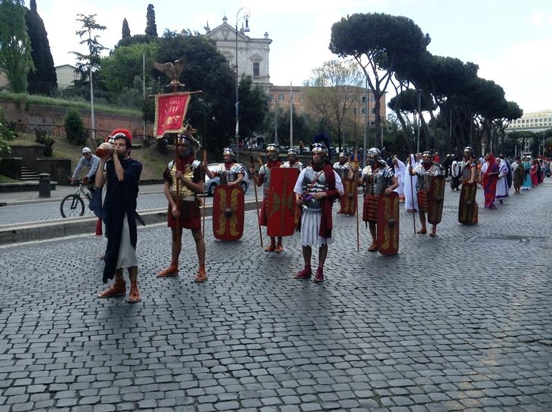 I figuranti di Artocria a Roma  (1)