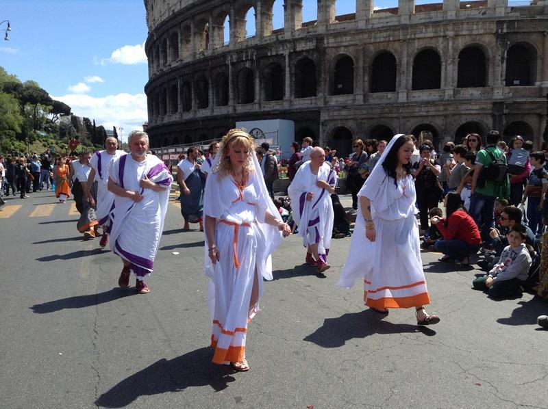 I figuranti di Artocria a Roma  (2)