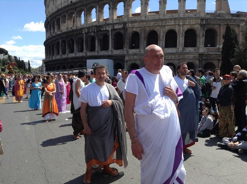 I figuranti di Artocria a Roma  (3)
