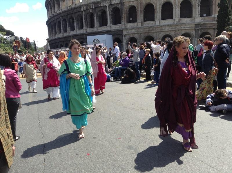 I figuranti di Artocria a Roma  (5)