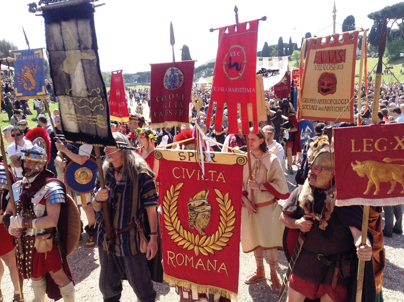 I figuranti di Artocria a Roma  (8)