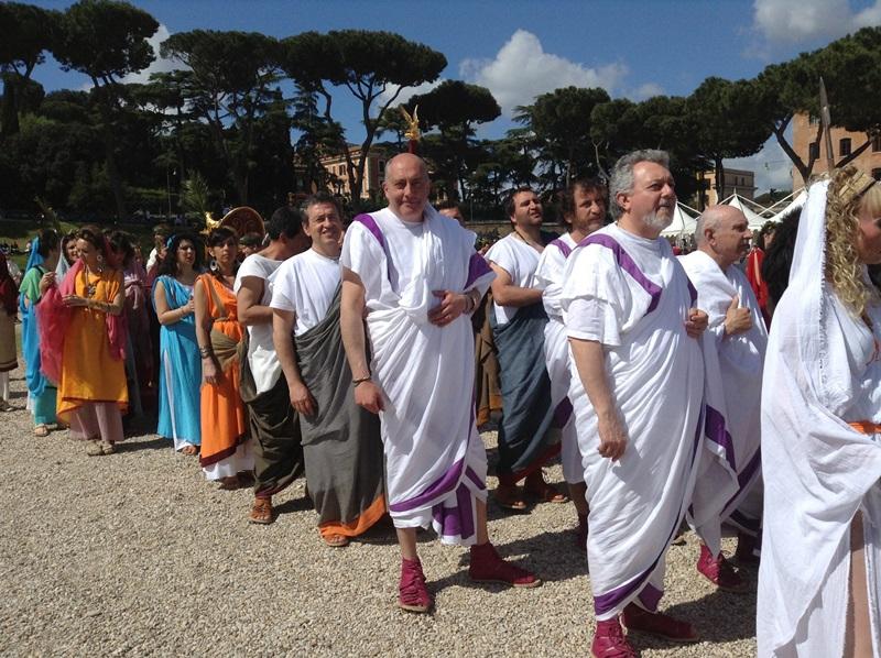 I figuranti di Artocria a Roma  (9)